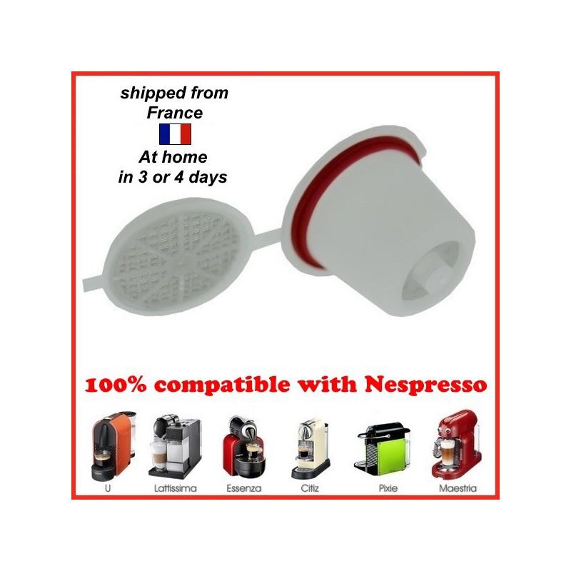 1 dosette nespresso rechargeable