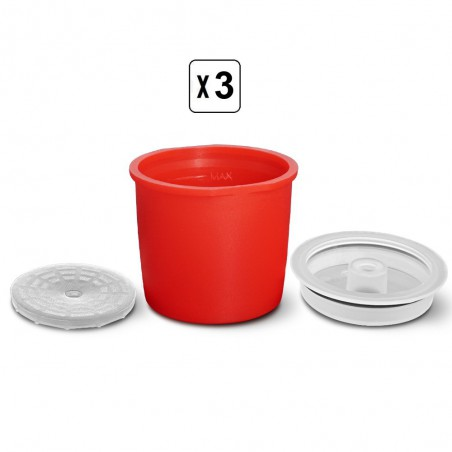 3 Capsule Illy rechargeable