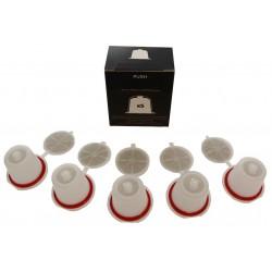 5 capsules remplissables Nespresso